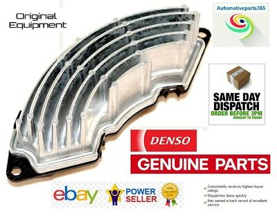 Genuine Denso Heater Blower Resistor For Citroen C4 Picasso Berlingo Dispatch