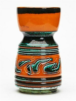 VINTAGE POOLE POTTERY VASE BY ANNE GODFREY c.1965-70