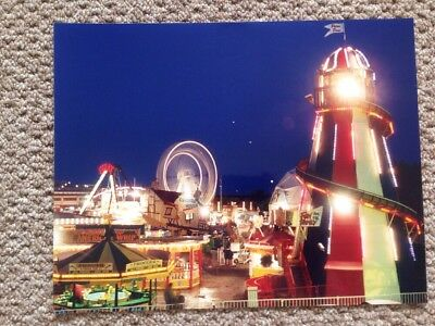 "Original Vintage Retro Photo Of Peter Pan's Playground Southend On Sea 14"" X 11"""
