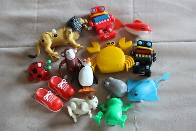 Job Lot of 13 Small Wind up Toys