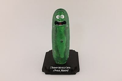 Rick and Morty PICKLE RICK 3D printed, Hand-Painted