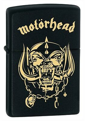 Rare Motörhead Zippo Lighter Lemmy Custom Engraved Heavy Metal Cd Lp