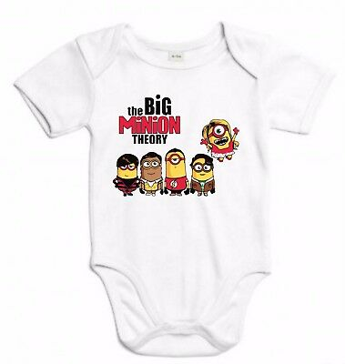 BODY THE BIG BANG THEORY MINION FUNNY SHELDON FRIKI MEZCLA TSHIRT SIL Sbt018