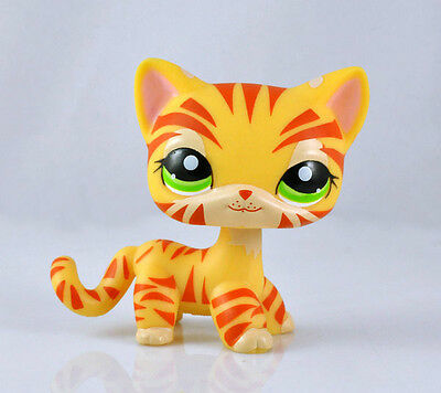 Pet Littlest Cat Collection Child Girl Boy Figure Toy Loose Cute LPS813