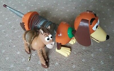 Toy Story Slinky Dog and Bullseye