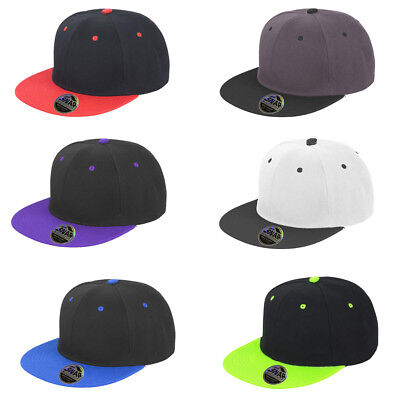 Mens Result Core Original Flat Peak-Snapback Adjuster Collectable Caps One Size