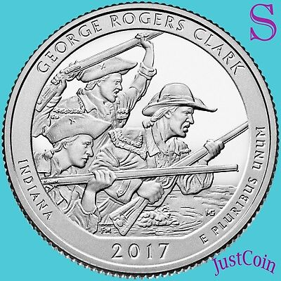 2017-S George Rogers Clark National Park Quarter Uncirculated