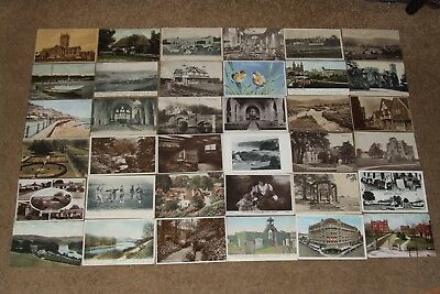 Collection job lot topographical & other vintage postcards lot 7