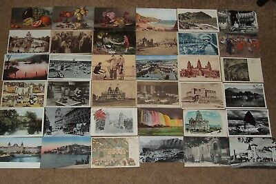 Collection job lot topographical & other vintage postcards lot 8