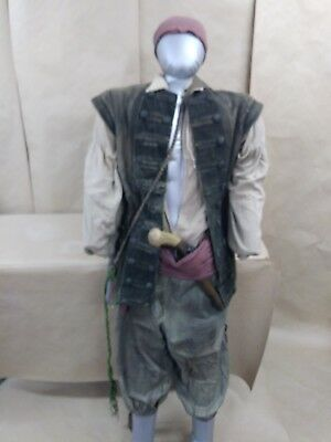Screen worn original movie pirate costume
