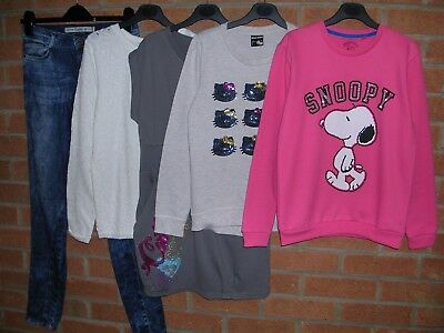 ZARA SNOOP TAMMY GEORGE etc Girls Bundle Dress Jumpers Jeans Tops Age 11-12