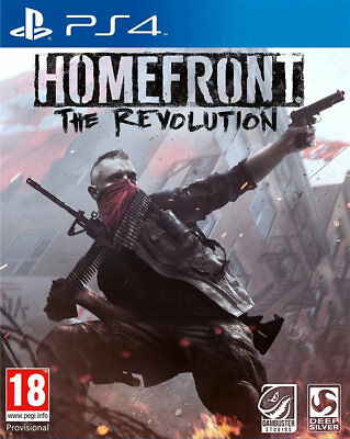Homefront: The Revolution (PS4)  BRAND NEW AND SEALED - QUICK DISPATCH