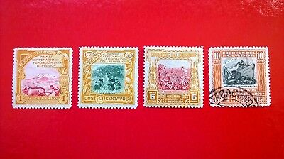 Ecuador 1930 `100 years of the republic` issues