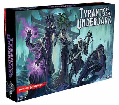Tyrants of the Underdark D&D Board Game BNIB