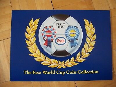 Esso 1990 World Cup Coin Collection