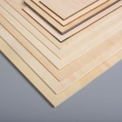 300x210mm Square Wood Chips Basswood Plywood Sheet DIY Craft Building Model