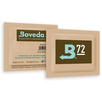 Boveda Humidipak 8 Gram (Medium) 3 Pack 2-way Humidity Control 72% RH