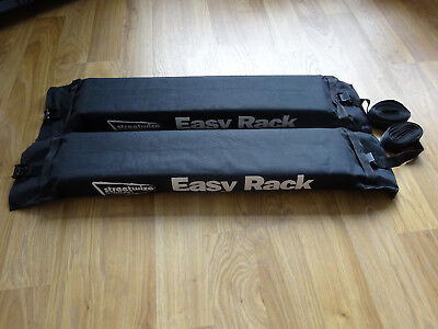 Streetwize Easy Rack Soft Roof Rack Universal Surf Kayak Carrier New