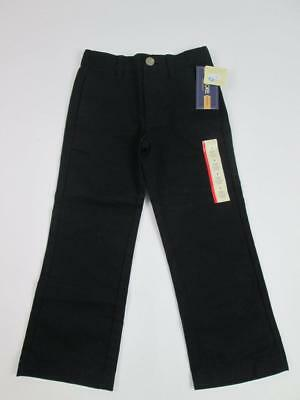 Cherokee Target Kids Boys Black School Uniform Pants Trouser Sz:4 Nwt