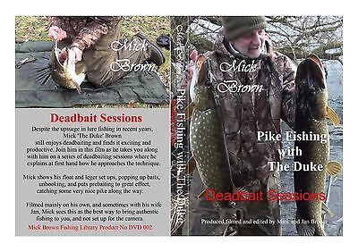 NEW  for 2017 -  DEADBAIT SESSIONS Mick Brown - SIGNED COPY