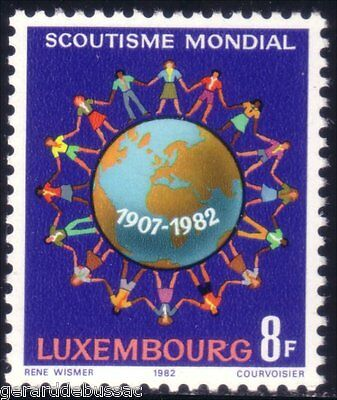Luxembourg Scouts   MNH ** (38)