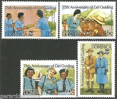 Dominica Scouts Baden Powell MNH ** (73)