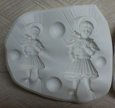 Victorian Girls Mold by Bell Mold Co. #2657