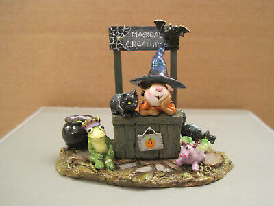 Wee Forest Folk M-323b Magical Creatures-Limited to Haloween '15