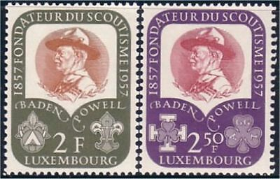 Luxembourg Scouts 100 years Baden Powell MH light linge mark * (119)