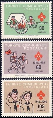 Turkey Scouts Fifty Years Scouting MH light linge mark * (121)