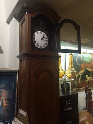 Superb 8ft Tall Quality Antique french Grandfather Clock