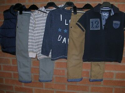 ALL NEXT Boys Bundle Shirts Tops T-Shirts Jeans Jumpers Age 3-4 104cm