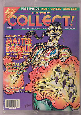 July 1994 Tuff Stuff's Collect Magazine Factory Sealed Master Darque
