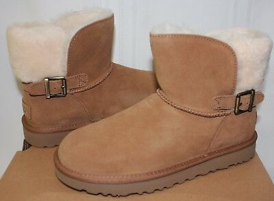 42a57aa94c7 UGG WOMEN'S CLASSIC Karel Chestnut Suede boots New With Box!