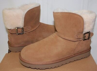 9bcaf4ebe21 UGG WOMEN'S CLASSIC Karel Grey Violet Suede boots New With Box ...