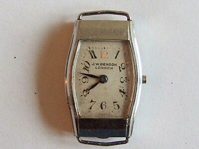 Longines cal.15.23 J W Benson vintage ladies watch for spares, repair.