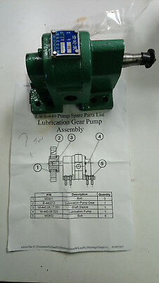 LJR Pumps 36007-06-01-00 lubrication pump for assy EWS-440 W-440.08.023