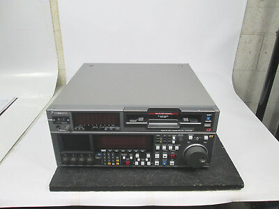 Panasonic Aj-Hd1800 Dvcpro Video Recorder 990 Drum Hrs