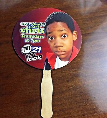 UPN Everybody Hates Chris  and South Park Advertising Church Fan(Rare)