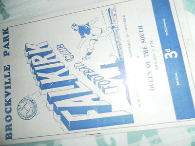 1958/9 Falkirk V Queen Of The South