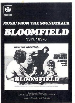 """Pp72/4P09 Music From The Soundtrack Bloomfield Advert 5X4"""""""