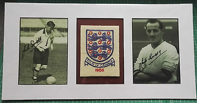 1950 England Tour Of Canada Shirt Badge Issued To England Player - Rare Montage