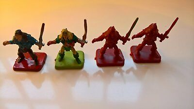 4 Hero Quest Hero Figures