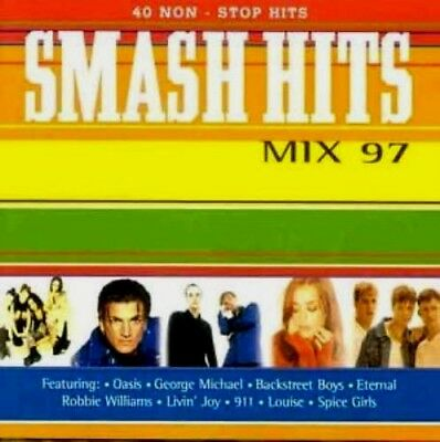Smash Hits Mix '97 (1996) 2CD Album ft. Oasis George Michael Backstreet Boys 911