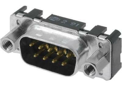 09651216703 Socket D-Sub PIN9 male with threaded screw straight THT HARTING