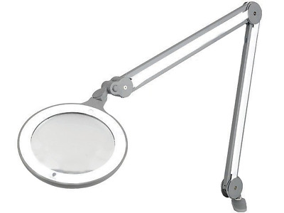 1x DL-IQLAMP Desktop lamp with magnifier Mag3dptx1.75 Illumination LED E25100