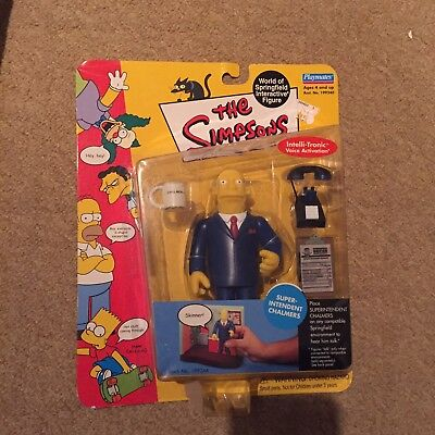 The Simpsons WOS Interactive Figure - Superintendent Chalmers