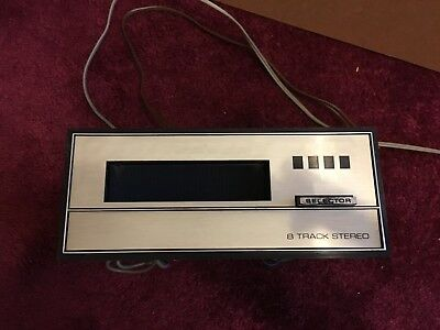 BSR T145 8 Track Stereo player, not working. Needs new fan belt