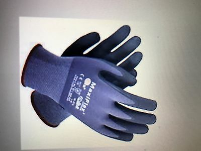 PIP 34-874/L MaxiFlex Ultimate Nitrile Micro-Foam Coated Gloves, Large, 12 Pair
