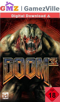 Doom 3 III Steam Key PC Game Digital Download Code [EU/US/MULTI]